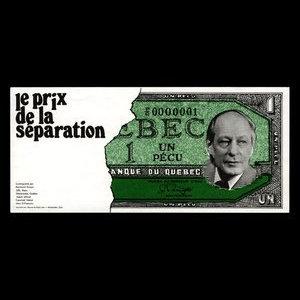 Canada, Raymond Drouin, 1 pecu : 1973