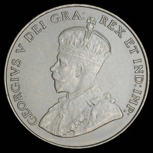 Canada, George V, 5 cents : 1931