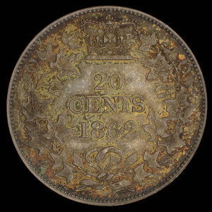 Canada, unknown, no denomination : 1862