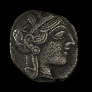 Ancient Greece, tetradrachm : 413 BC