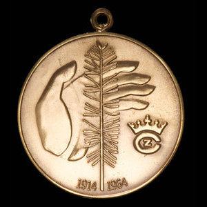 Canada, Crown Zellerbach Canada Limited, no denomination : 1964