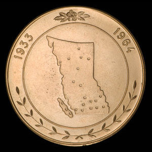 Canada, Finning Tractor & Equipment Co. Ltd., no denomination : 1964