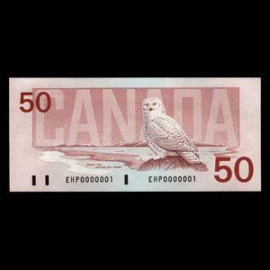 Canada, Bank of Canada, 50 dollars : 1988