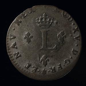 France, Louis XV, 2 sous : 1739