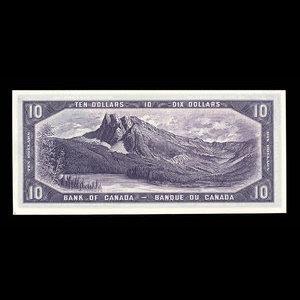 Canada, Bank of Canada, 10 dollars : 1954