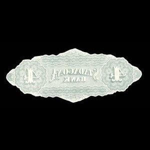 Canada, Stadacona Bank, 4 dollars : April 2, 1874