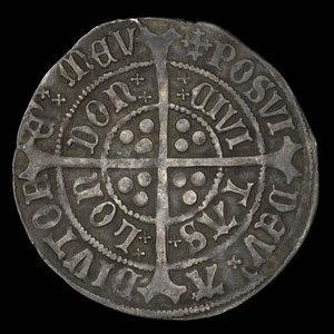 England, Henry VII, 1 groat : 1505