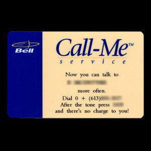 Canada, Bell Canada, no denomination : December 1997