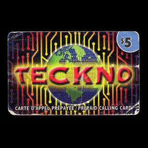 Canada, Teckno, 5 dollars : June 2003