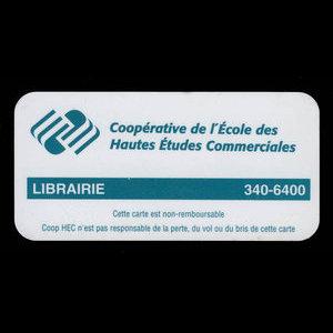 Canada, Coopérative de l'École des Hautes Études Commerciales, no denomination : 2003