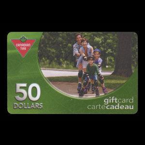 Canada, Canadian Tire Corporation Ltd., 50 dollars : 2004