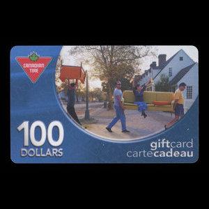 Canada, Canadian Tire Corporation Ltd., 100 dollars : 2004