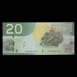Canada, Bank of Canada, 20 dollars : 2004