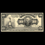 Canada, Banque d'Hochelaga, 10 piastres <br /> May 2, 1898