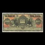 Canada, Bank of Nova Scotia, 100 dollars <br /> January 2, 1929