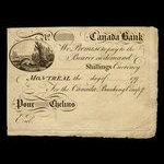 Canada, Canada Bank, no denomination <br /> 1793