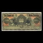 Canada, Bank of Nova Scotia, 100 dollars <br /> January 2, 1925