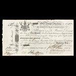 Canada, Hudson's Bay Company, 1 pound <br /> 1820