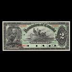 Canada, Dominion of Canada, 2 dollars <br /> July 2, 1897
