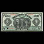 Canada, Dominion of Canada, 1 dollar <br /> January 3, 1911