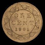 Canada, Victoria, 1 cent <br /> 1901