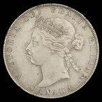 Canada, Victoria, 50 cents <br /> 1898
