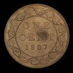 Canada, Edward VII, 1 cent <br /> 1907