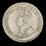 Canada, George V, 5 cents <br /> 1918