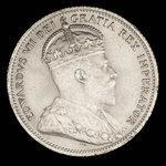 Canada, Edward VII, 25 cents <br /> 1903