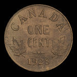 Canada, George V, 1 cent <br /> 1928