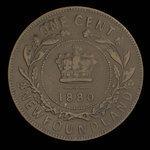 Canada, Victoria, 1 cent <br /> 1880