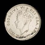 Canada, George VI, 5 cents <br /> 1938