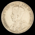 Canada, George V, 20 cents <br /> 1912