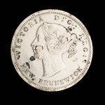 Canada, Victoria, 5 cents <br /> 1864