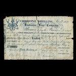 Canada, Hudson's Bay Company, 1 shilling <br /> 1821