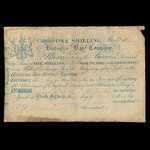 Canada, Hudson's Bay Company, 1 shilling <br /> 1840