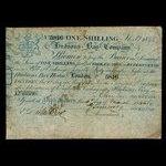 Canada, Hudson's Bay Company, 1 shilling <br /> 1845