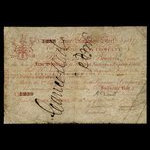 Canada, Hudson's Bay Company, 5 shillings <br /> 1857