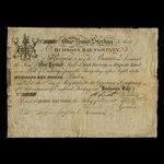 Canada, Hudson's Bay Company, 1 pound <br /> 1832