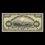 Canada, Bank of Vancouver, 100 dollars <br /> May 2, 1910