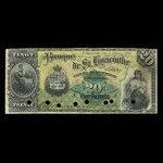 Canada, Banque de St. Hyacinthe, 20 dollars <br /> January 2, 1892