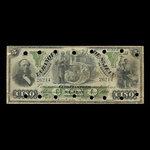 Canada, Banque de St. Jean, 5 dollars <br /> April 1, 1900