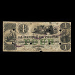 Canada, Banque du Peuple (People's Bank), 4 dollars <br /> January 2, 1854