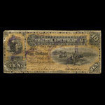 Canada, Commercial Bank of Manitoba, 10 dollars <br /> May 1, 1885