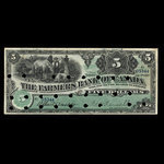 Canada, Farmers Bank of Canada, 5 dollars <br /> January 2, 1907