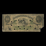 Canada, St. Stephen's Bank, 10 dollars <br /> February 1, 1886