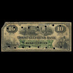 Canada, St. Stephen's Bank, 10 dollars <br /> February 1, 1892