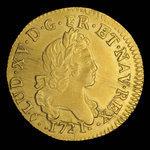 France, Louis XV, 1 louis d'or <br /> 1721