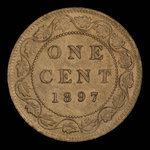 Canada, Victoria, 1 cent <br /> 1897