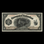 Canada, Government of Newfoundland, 2 dollars <br /> January 2, 1920